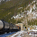 Moffat Tunnel East Portal At The Continental Divide In Colorado by Steve Krull