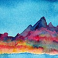 Mohave Mountains by Anne Duke