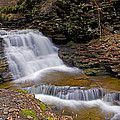 Mohican Falls In Spring by Shelly Gunderson