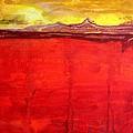 Mojave Dawn Original Painting by Sol Luckman