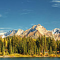 Molas Lake And The Needles Pan 1 by Ken Smith