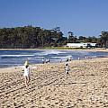 Mollymook Beach On The South Coast Of New South Wales Australia by Martin Berry