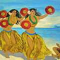 Moloka'i Hula 2 by James Temple