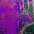 Molten Earth Purple by Kusum Vij