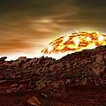 Molten Sunrise by Marc Ward