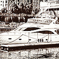 Momousse Yacht In Montreal by Boris Mordukhayev