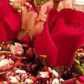 Moms Red Roses by Dave Dresser