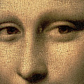 Mona Lisa    Detail by Leonardo Da Vinci