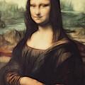 Mona Lisa Digital Painting by Georgeta Blanaru