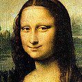Mona Lisa Smiling by Bruce Nutting