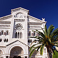 Monaco Cathedral by Ioan Panaite