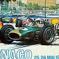 Monaco F1 Grand Prix 1968 by Georgia Fowler