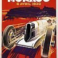 Monaco Grand Prix 1930 by Georgia Fowler