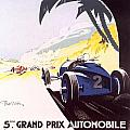 Monaco Grand Prix 1933 by Georgia Fowler
