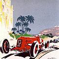 Monaco Grand Prix 1934 by Georgia Fowler