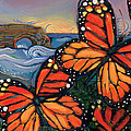 Monarch Butterflies At Natural Bridges by Jen Norton