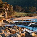 Monastery Beach In Carmel California by Charlene Mitchell