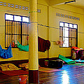 Monastery Dormitory In Tachilek-burma by Ruth Hager