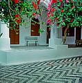 Monastery Symi Greece by Jeff Black