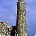 Monastic Round Tower by John Greim