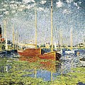 Monet, Claude 1840-1926. Argenteuil by Everett
