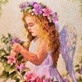Monet Silked Angel by Catherine Lott