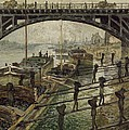 Monet The Coalmen 1875 by Movie Poster Prints