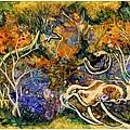 Monet Under Water by Kim Shuckhart Gunns