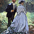 Monet's Bazille And Camille by Cora Wandel