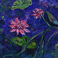 Monet's Lily Pond II by Xueling Zou