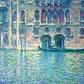 Monet's Palazzo De Mula In Venice by Cora Wandel