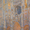 Monet's Rouen Cathedral -- West Facade by Cora Wandel