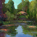 Monet's Water Lily Pond by Diane McClary