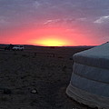 Mongolia Sunup by Michelle Hynes
