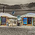 Mongolian Yurts by Karla Weber