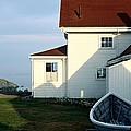 Monhegan Museum - Hopper-like by AnnaJanessa PhotoArt