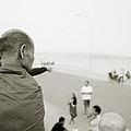 Monk In Vientiane by Shaun Higson
