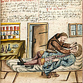 Monk Performing Eye Operation 1675 by Wellcome Images