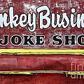 Monkey Business A Joke Shop by Bob Christopher