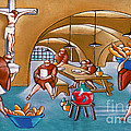 Monks Meal by William Cain