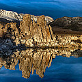Mono Lake In March by Kathleen Bishop
