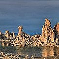 Mono Lake Medium Afternoon Panorama by Adam Jewell