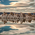 Mono Lake Reflections by Cat Connor
