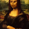 Mono Lisa by Pet Serrano