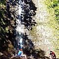 Monoa Waterfall  by Tsieu Phang