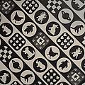 Monochrome Mosaic by Sonali Gangane