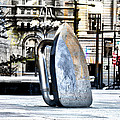 Monopoly Iron Statue In Philadelphia by Bill Cannon