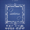 Monopoly Patent From 1935 - Blueprint by Aged Pixel