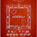 Monopoly Patent from 1935 - Red by Aged Pixel