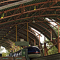 Monorail Depot Disneyland 01 by Thomas Woolworth